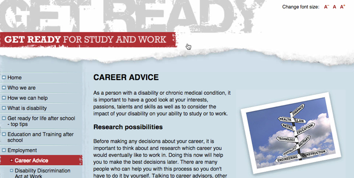 get ready career advice