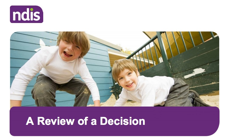 how to appeal an NDIS decision